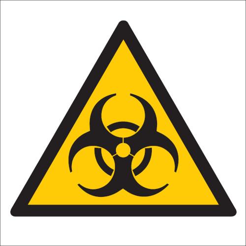 Upozornenie proti biologickej kontaminácii (materiál