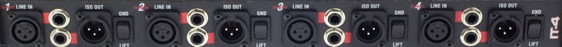 Proco IT 4A Izolačný transformátor 4-Kan príležitosť!