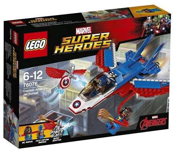 Lego 76076 Super Heroes Jet Chap. Americký