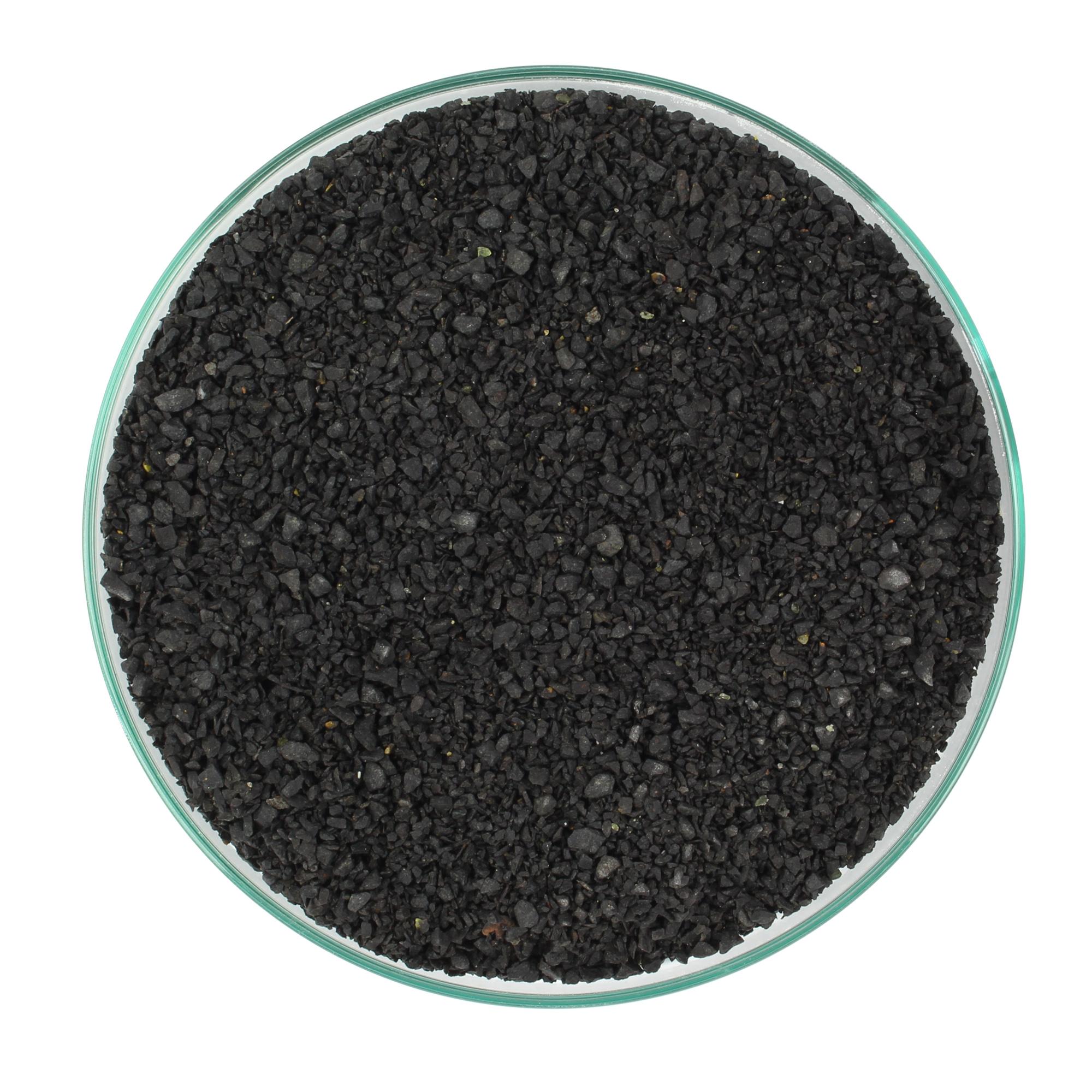 30 KG, ČIERNA ZRNITOSTI 1-3 mm V AKVÁRIU RASTLINY