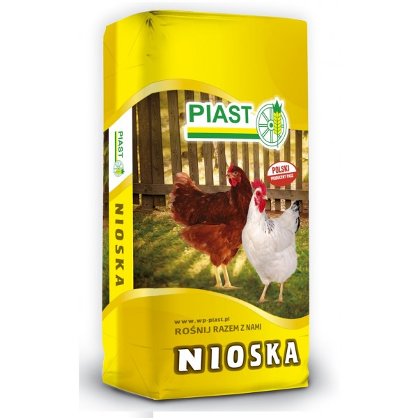Корм для кур-укладок PIAST 25кг гранулированный