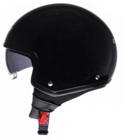 Helma LS2 of561 Wave lesklá čierna veľkosť XS