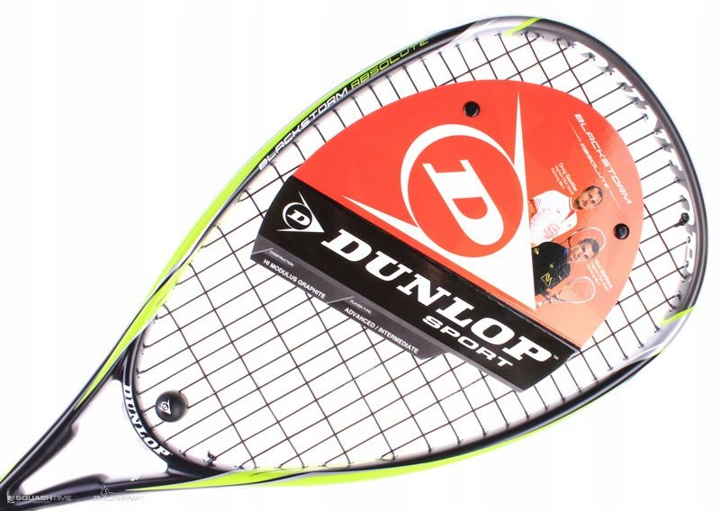 DUNLOP BlackStorm Absolute 135г ракетка для сквоша