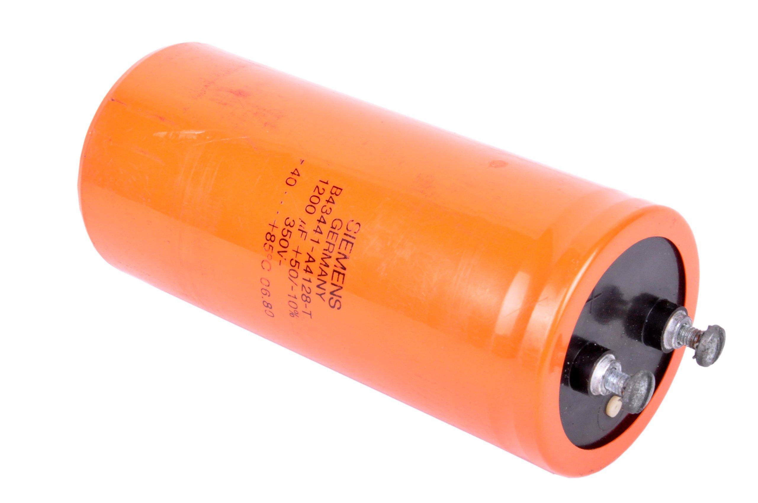 Siemens Capacitor 1200uf B43441-A4128-T 350VDC
