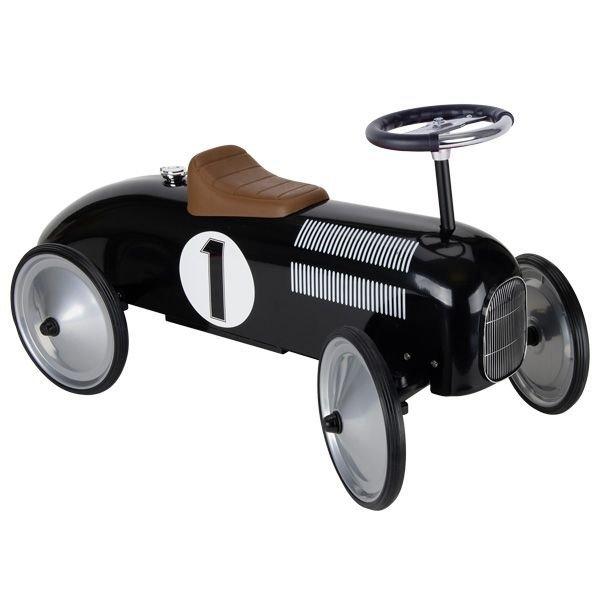 Jeździk black metal HISTORICKÝCH vozidiel pre deti
