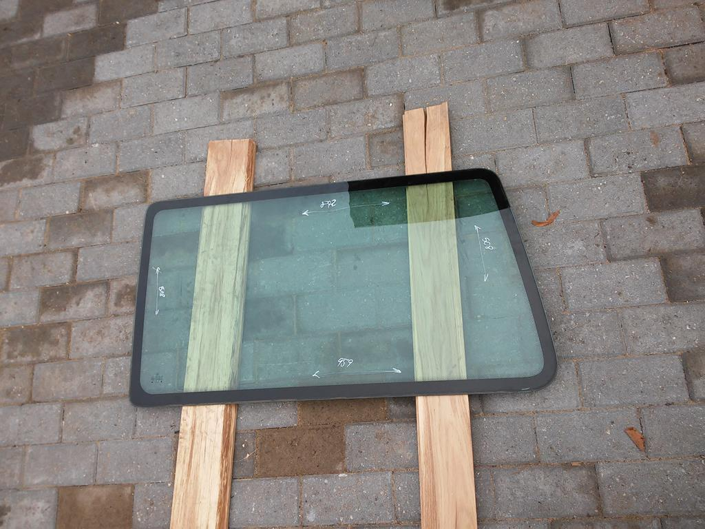 стекло боковая сторону vw t4 multivan левый сзади as2