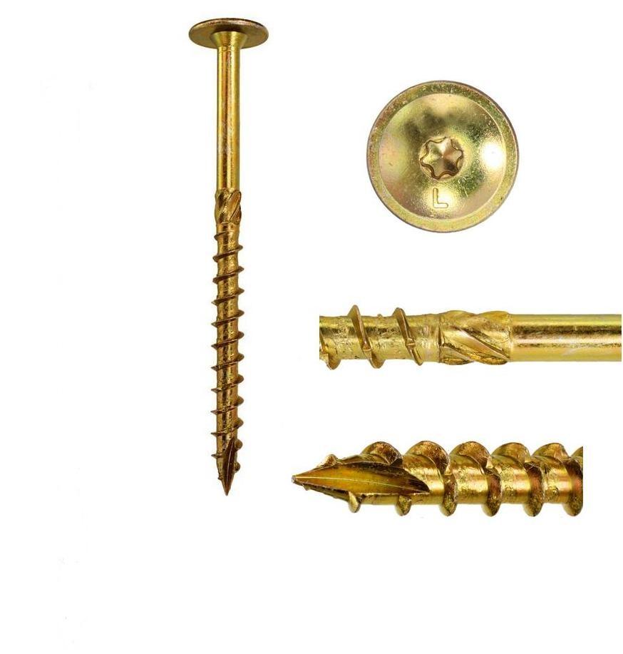 Skrutky skrutky na strešnú stranu 8x180mm 10ks torx