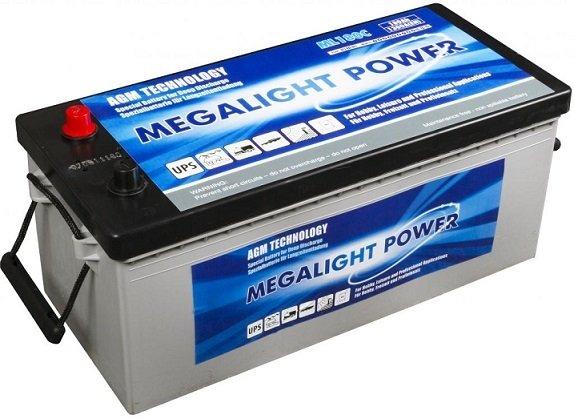 Thermotrousers MEGAlight batérie 180 Ah AGM loď, jachtu, pontón