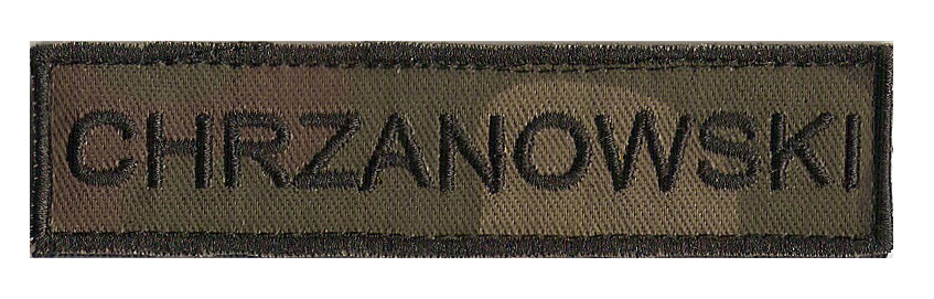 Item Band Name Patch-Name Form wz 93 army
