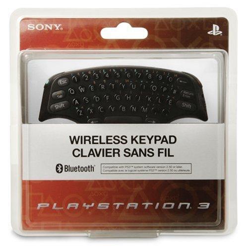Bezdrôtová klávesnica Sony klávesnica PS3 CHATPAD
