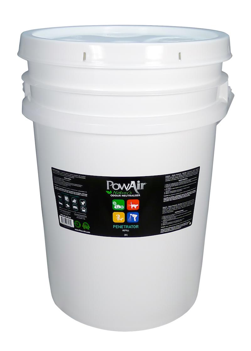 Penetrátora neutralizátorov. Ona 20 litrov