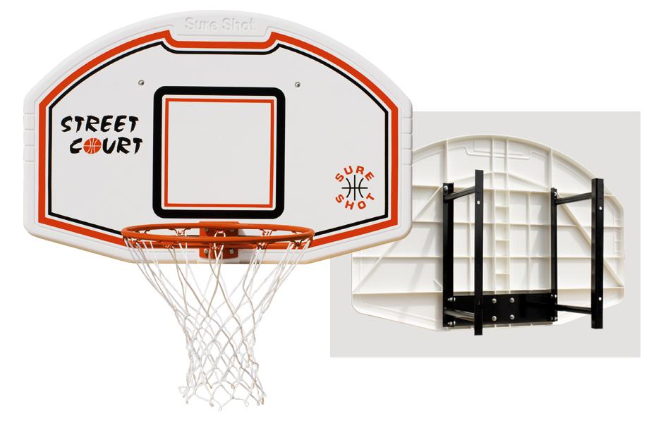 Nastaviť Doska na basketbalový kôš s rukoväťou