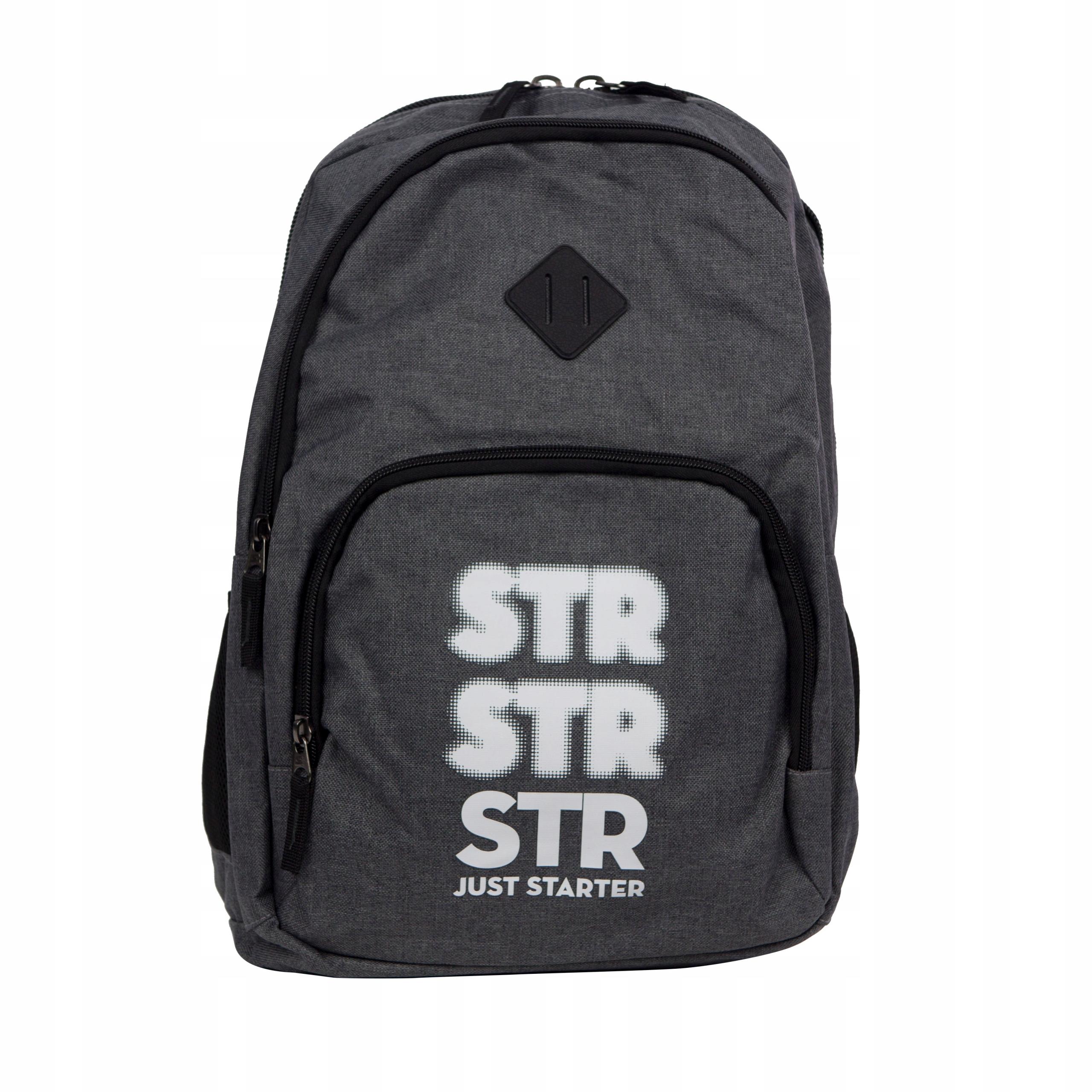 cd9d4543775f Starter plecak szkolny melanż port USB 0081 7446334581 - Allegro.pl