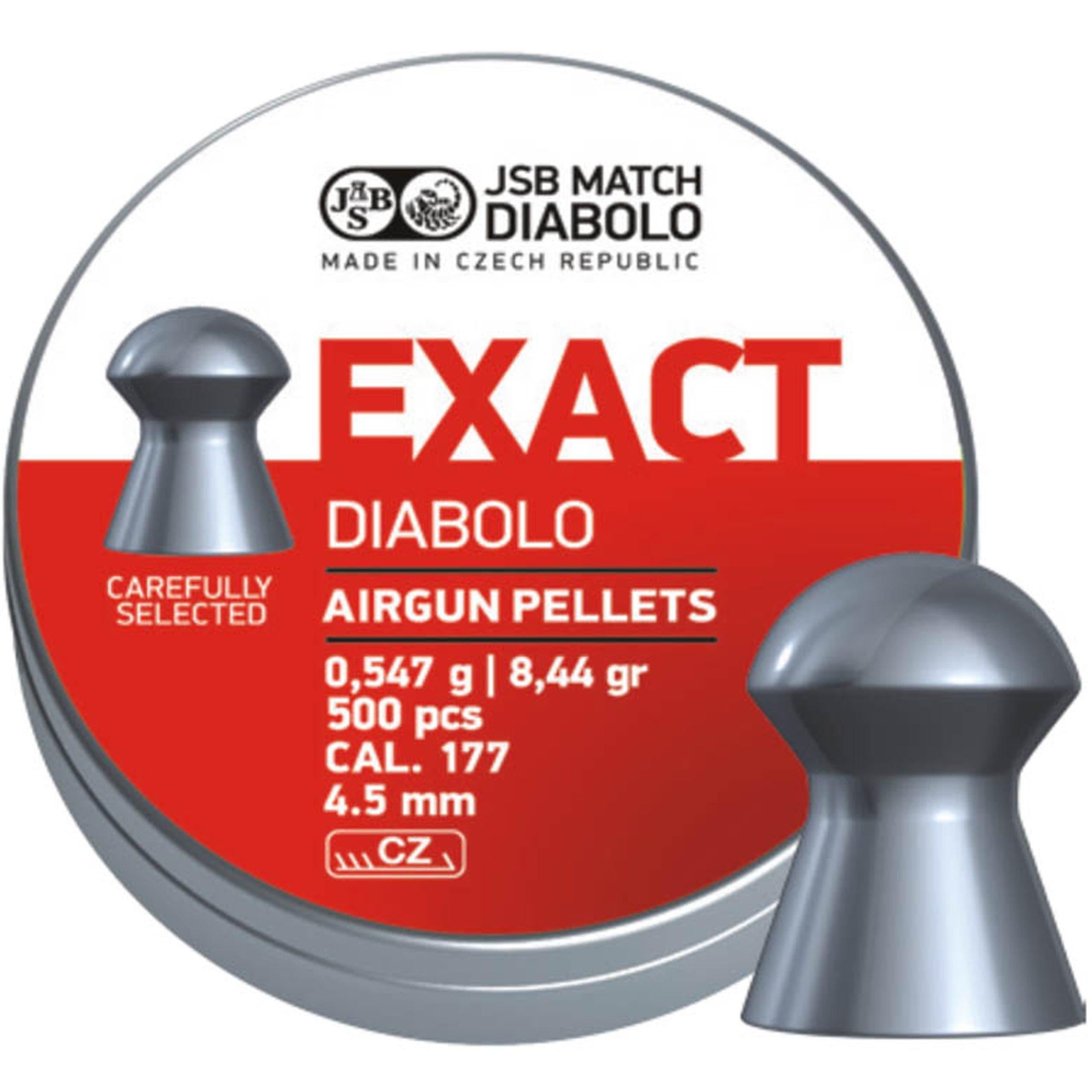 ŚRUT DIABOLO JSB EXACT 4 5mm 4 50 precyzyjny celny