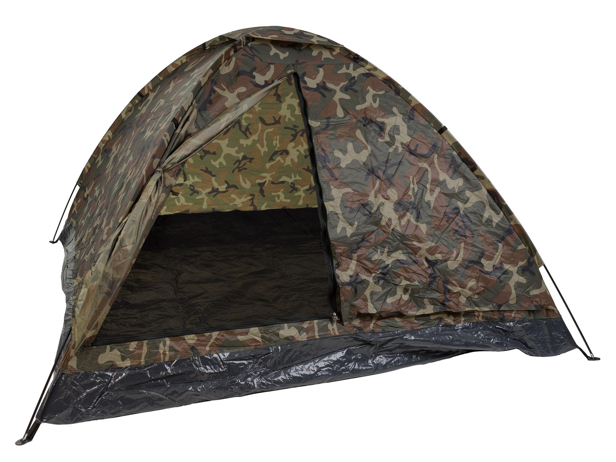 Vojenský STAN IGLO 3-posteľová izba - LESNÁ Kamufláž