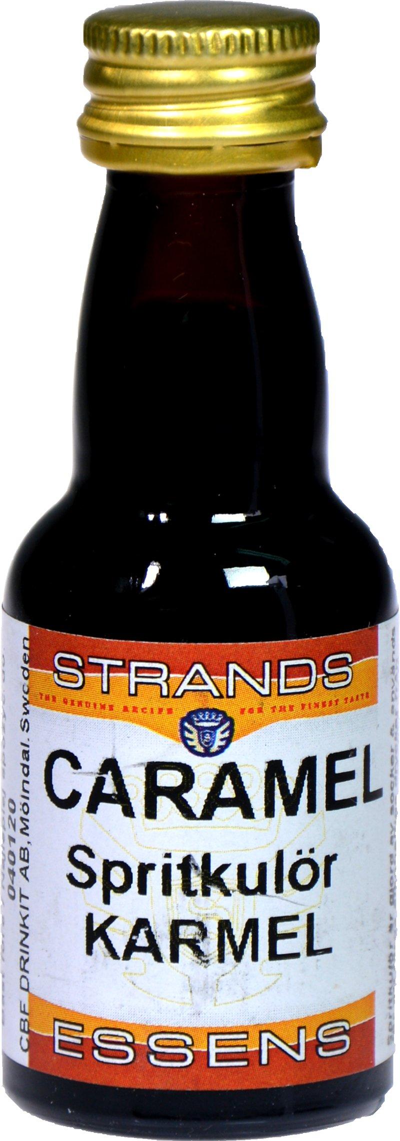 Zaprawka Strands CARAMEL przepalanka 25ml karmel
