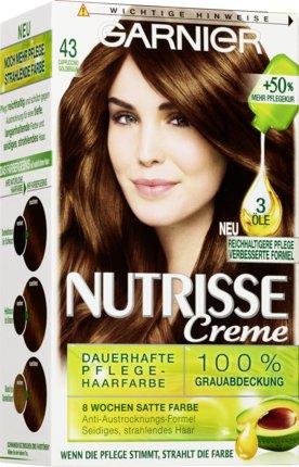 Haarfarbe cappuccino braun