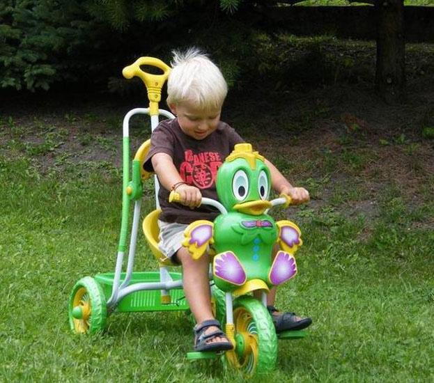 Bujany Dziecięcy rowerek Miękkie koła RO0024 Hamulec Brak