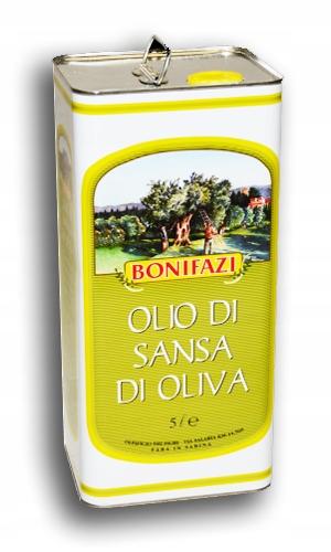 Oliwa z wytłoczyn Włoska Sansa 5l