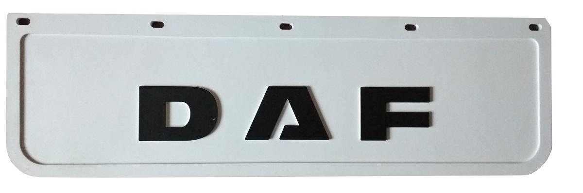 брызговик daf фартук белый штампованная chlapak 60x18