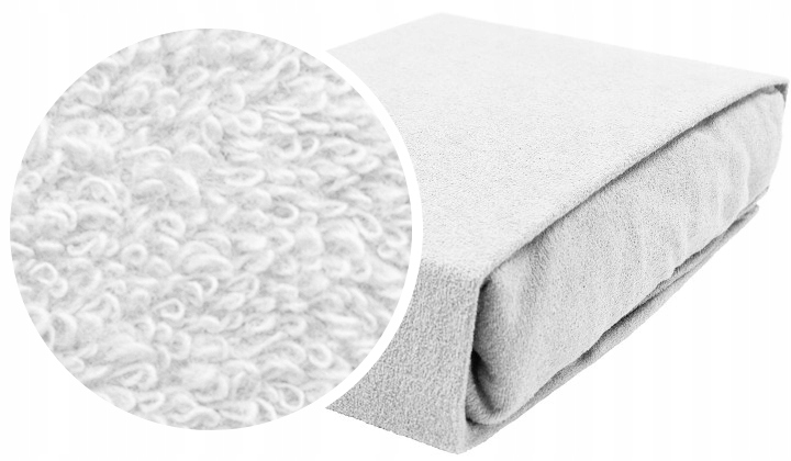 Item TERRY fitted SHEET FOR COT 120x60 LARGE SELECTION