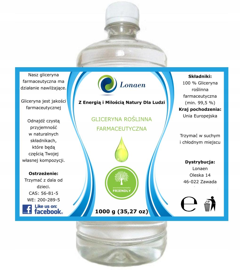 Item Vegetable glycerin Pharmaceutical CLEAN 1KG of 99.5%