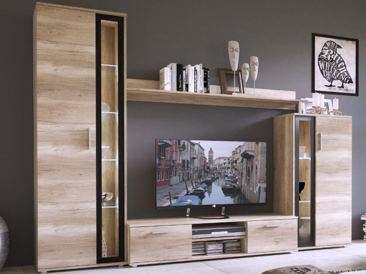 BENTLEY стенка Современная комнатная мебель