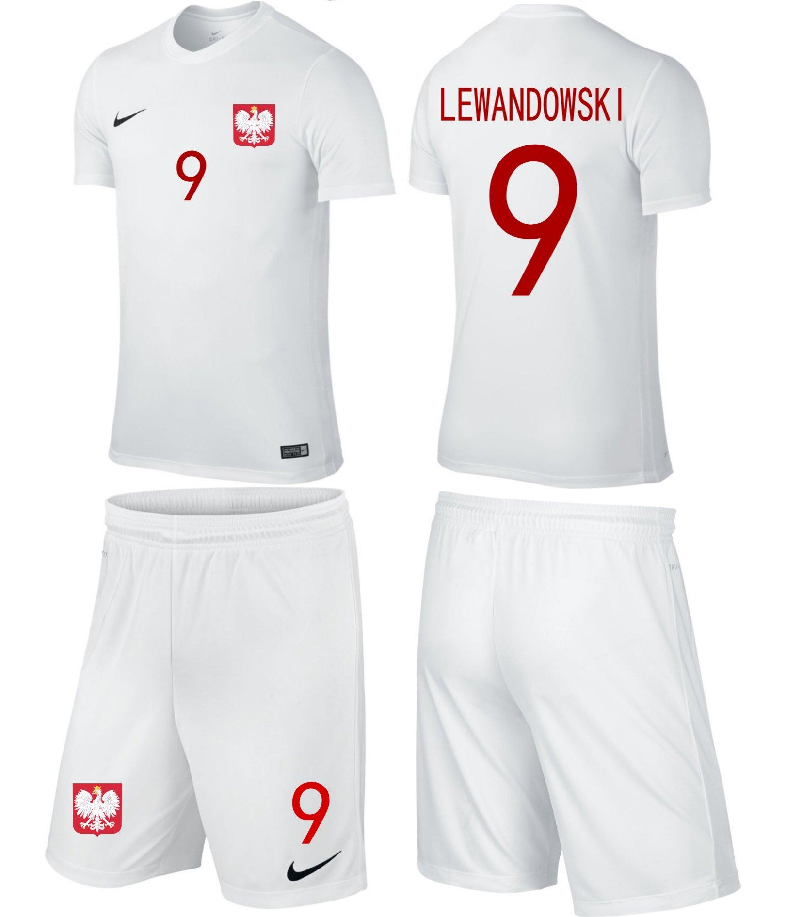 Nike kostým futbal kostým poľský Junior 128-137