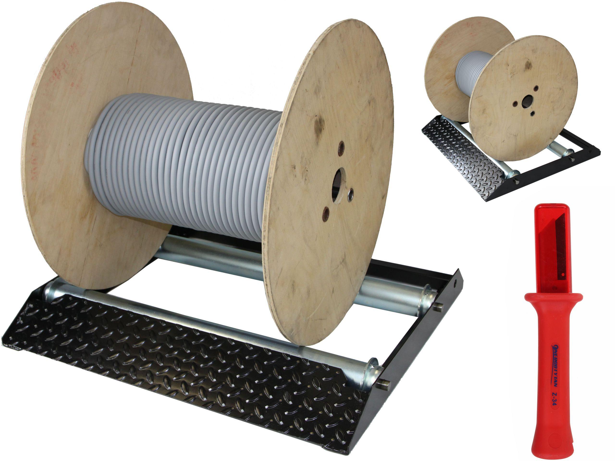 Oddýchnuť. Vývoj pre káblové bubny. RAID 150 kg