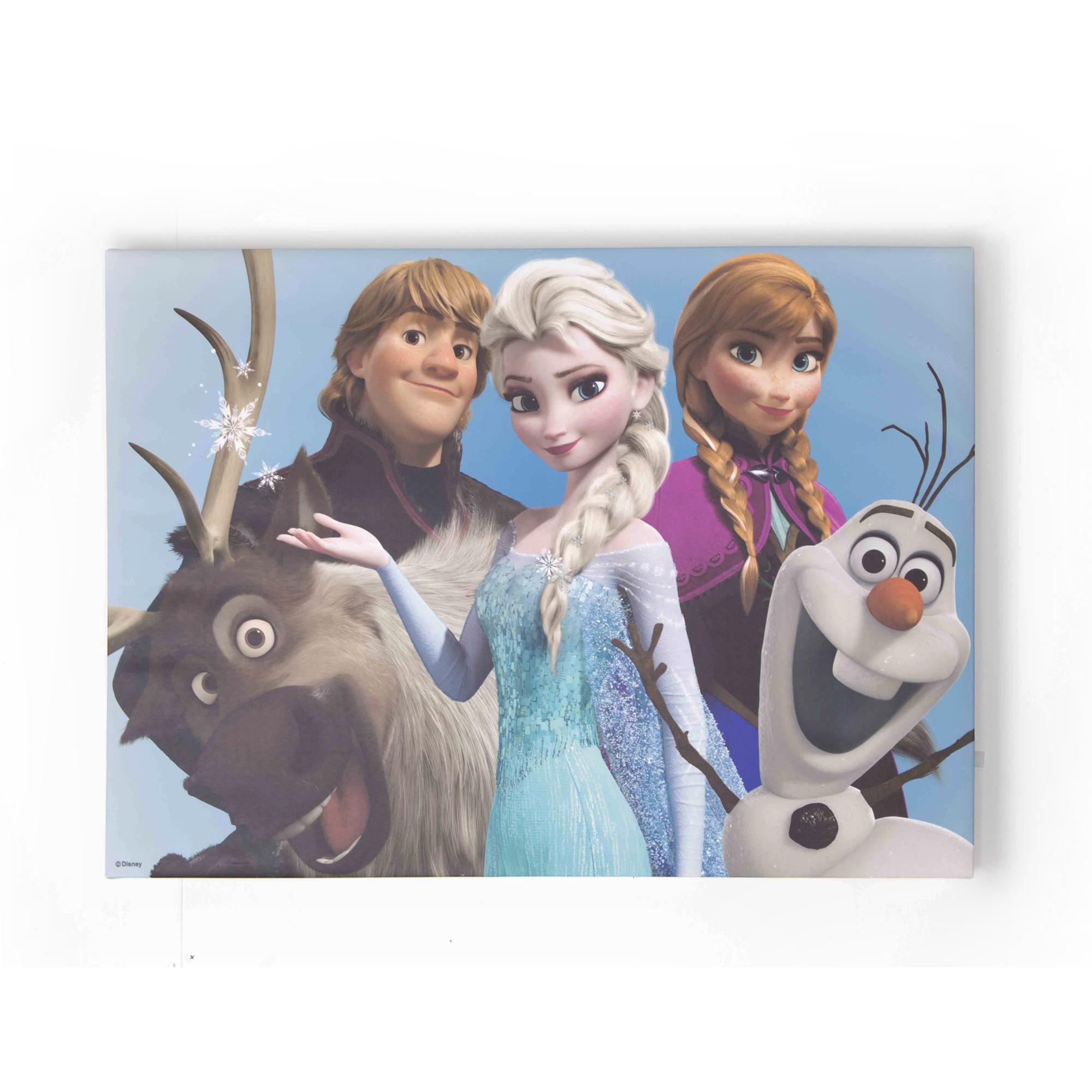 Maľba Frozen Frozen Elsa Olaf 50x70 70-549