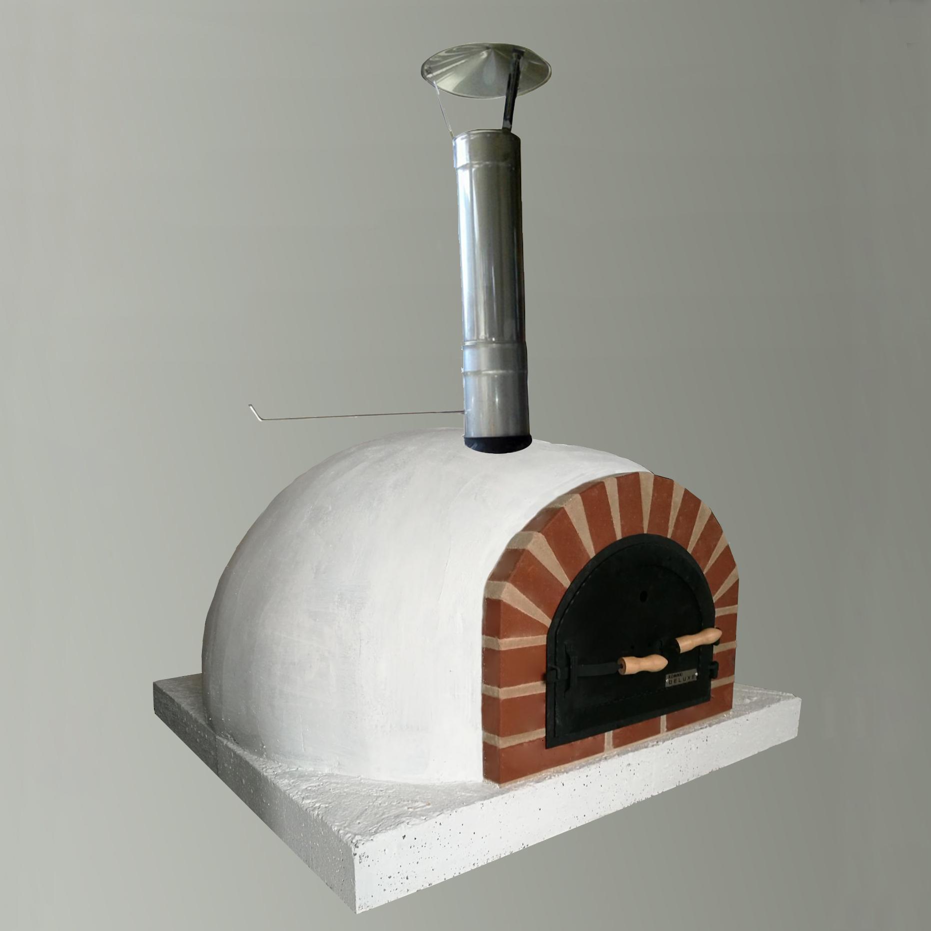 Pizza pec pec pečený chlieb slnené drevo