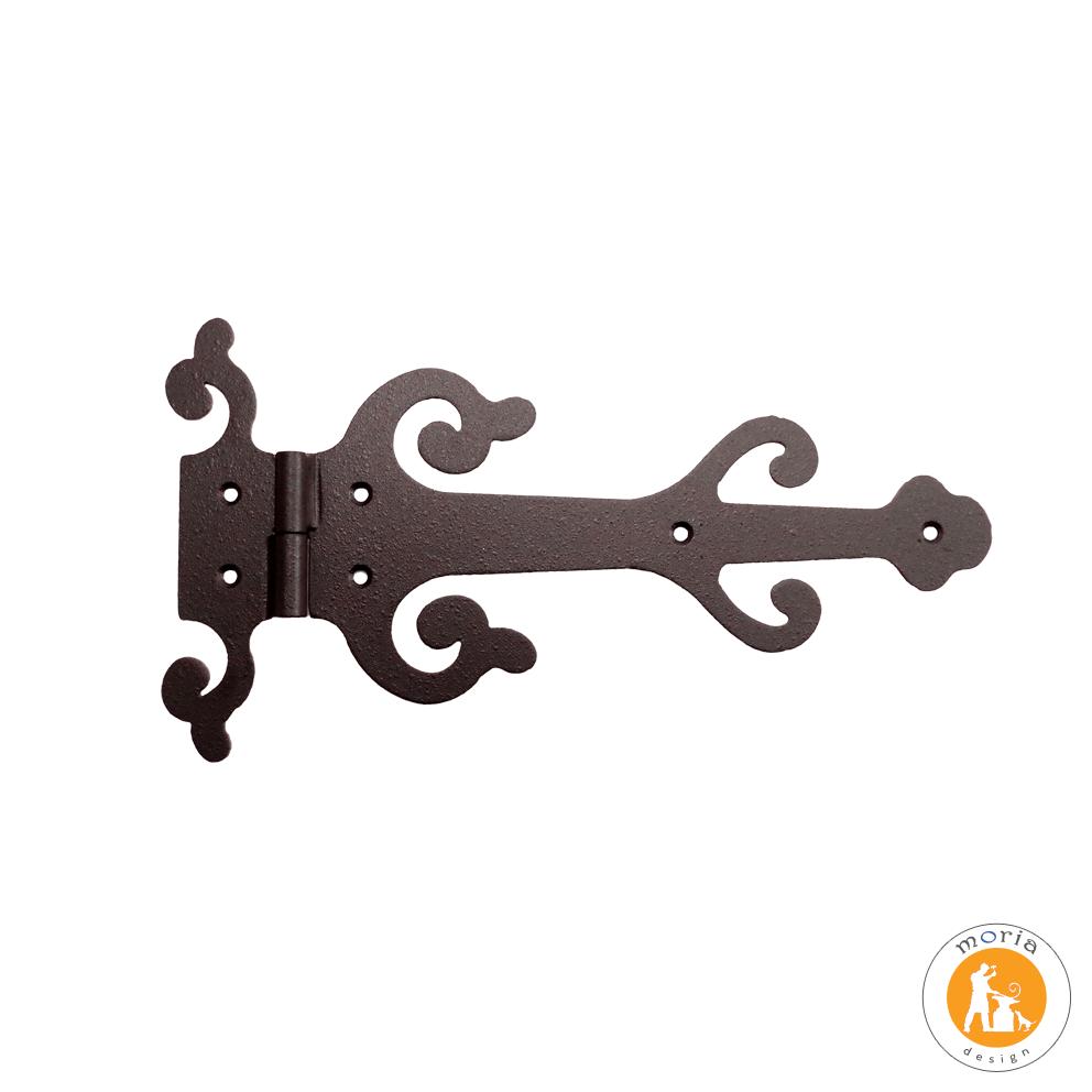 Slučky dekoratívneho kovaného železa a štýlové retro 25 cm-32