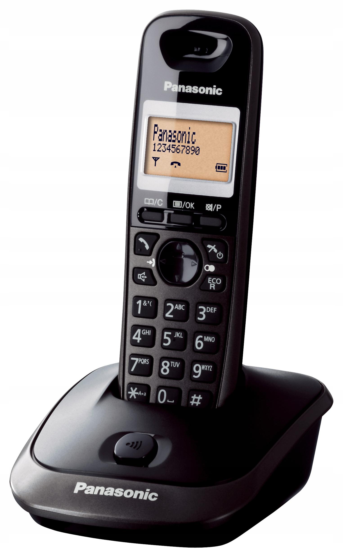 Panasonic KX-TG2511 черный [беспроводной телефон] доставка товаров из Польши и Allegro на русском