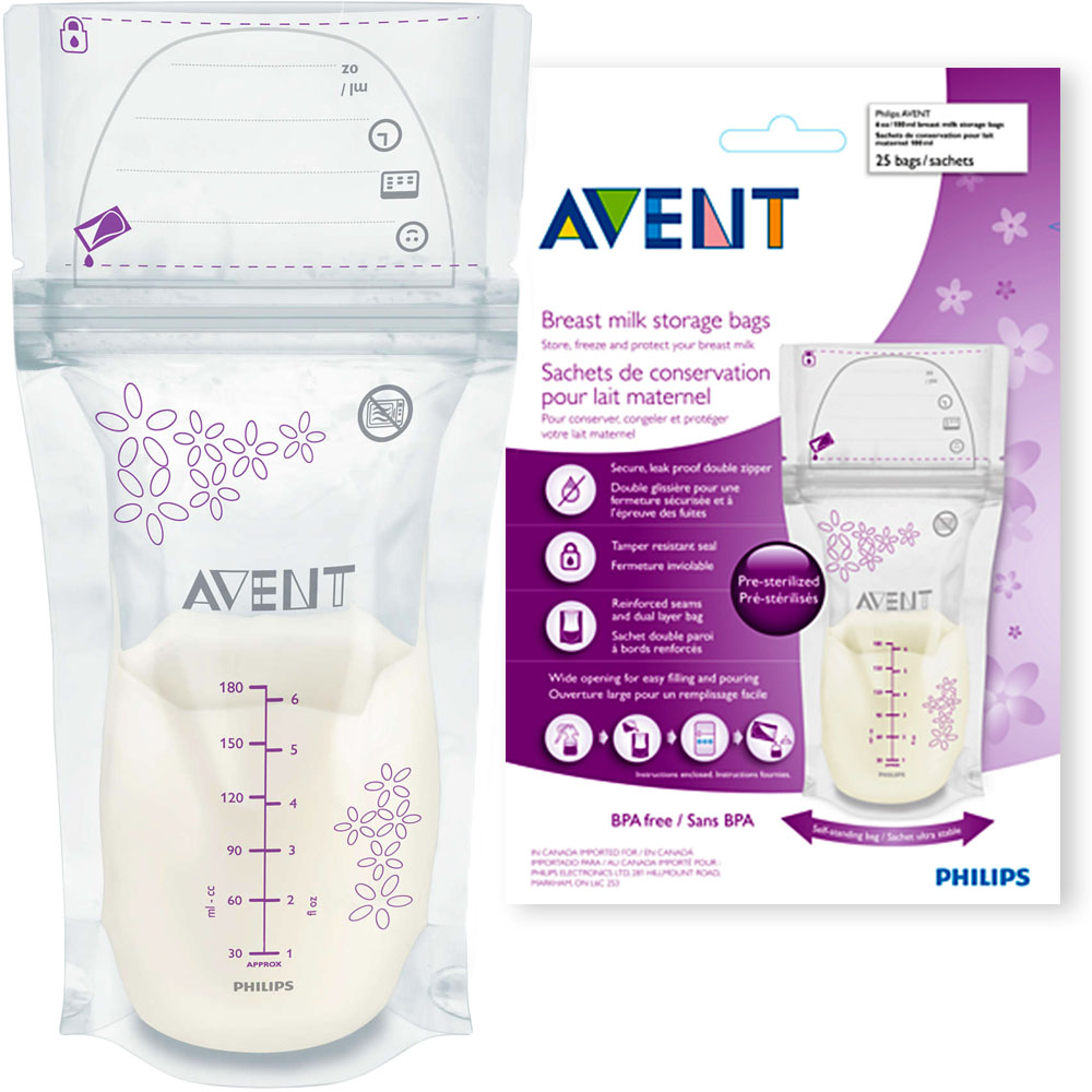 Item AVENT BAGS TO FEED MILK TO FREEZE