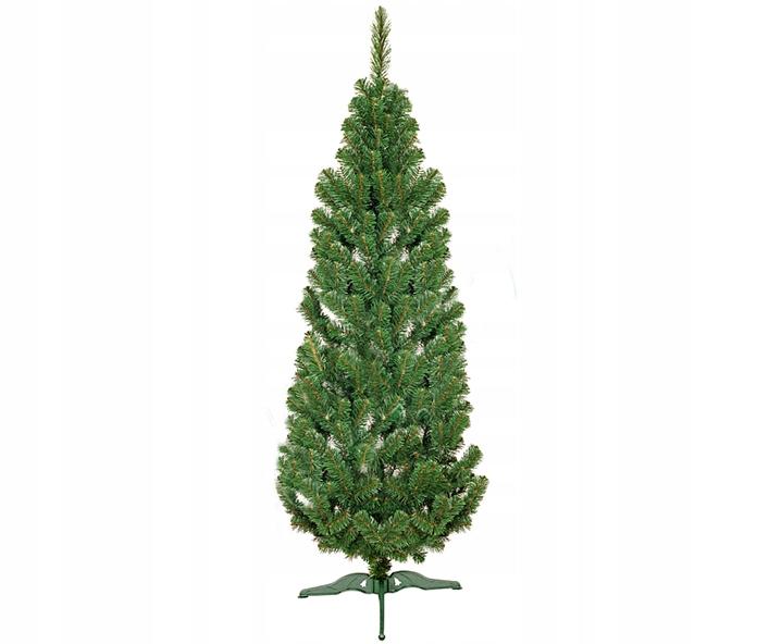 Umelé vianočné stromčeky Jedľa LUX TUJA Úzka 2m VIANOČNÝ STROM!