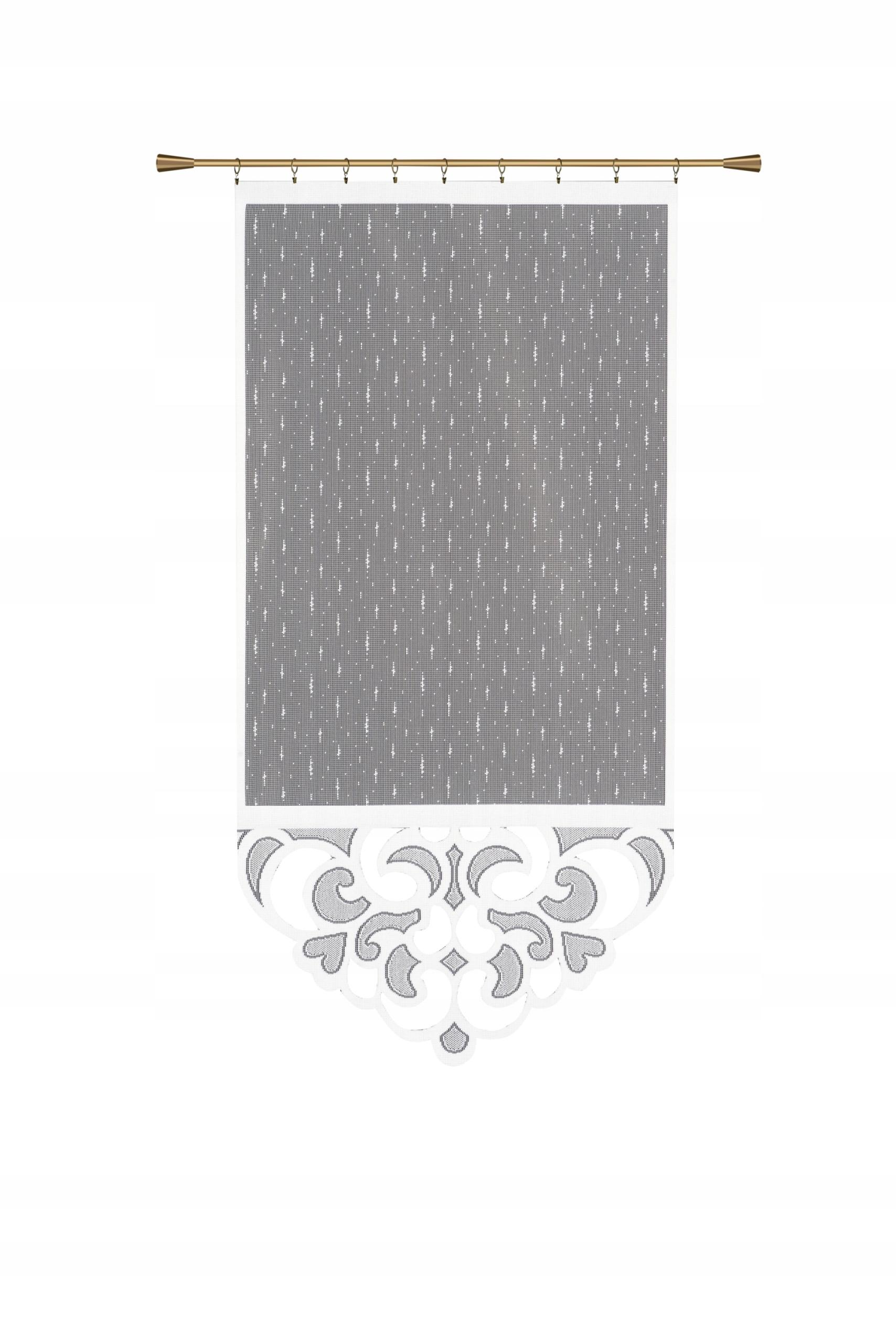 Gotowe Panele żakardowe Białe 60x120 Cm Wykończone
