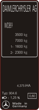 наклейка мощность mazda opel nissan toyota gm