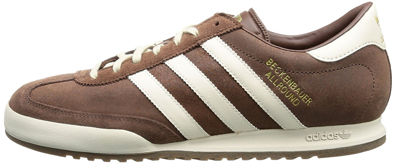 adidas Originals Męskie Beckenbauer All Round Buty Sportowe Brązowy