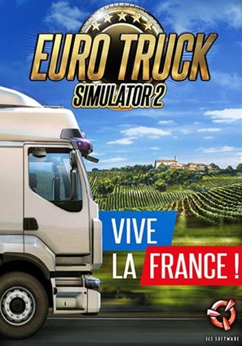 ЕВРО-6 Truck SIMULATOR лентам VIVE LA France ударный STEAM-20