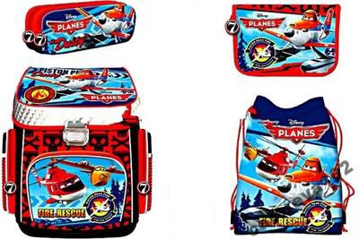 Disney lietadlá Airplanes Satchel Pension Case Bag + S