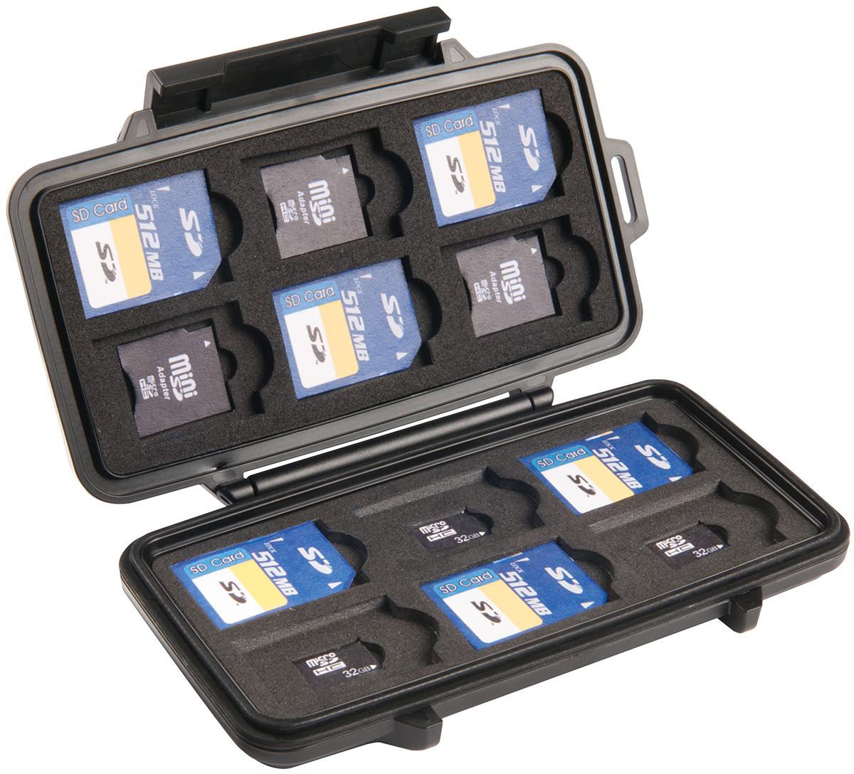 Peli 0915 case etui na karty pamięci sd micro mini