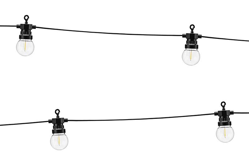 Dekoratívne LED žiarovky, žiarovky RETRO žlté
