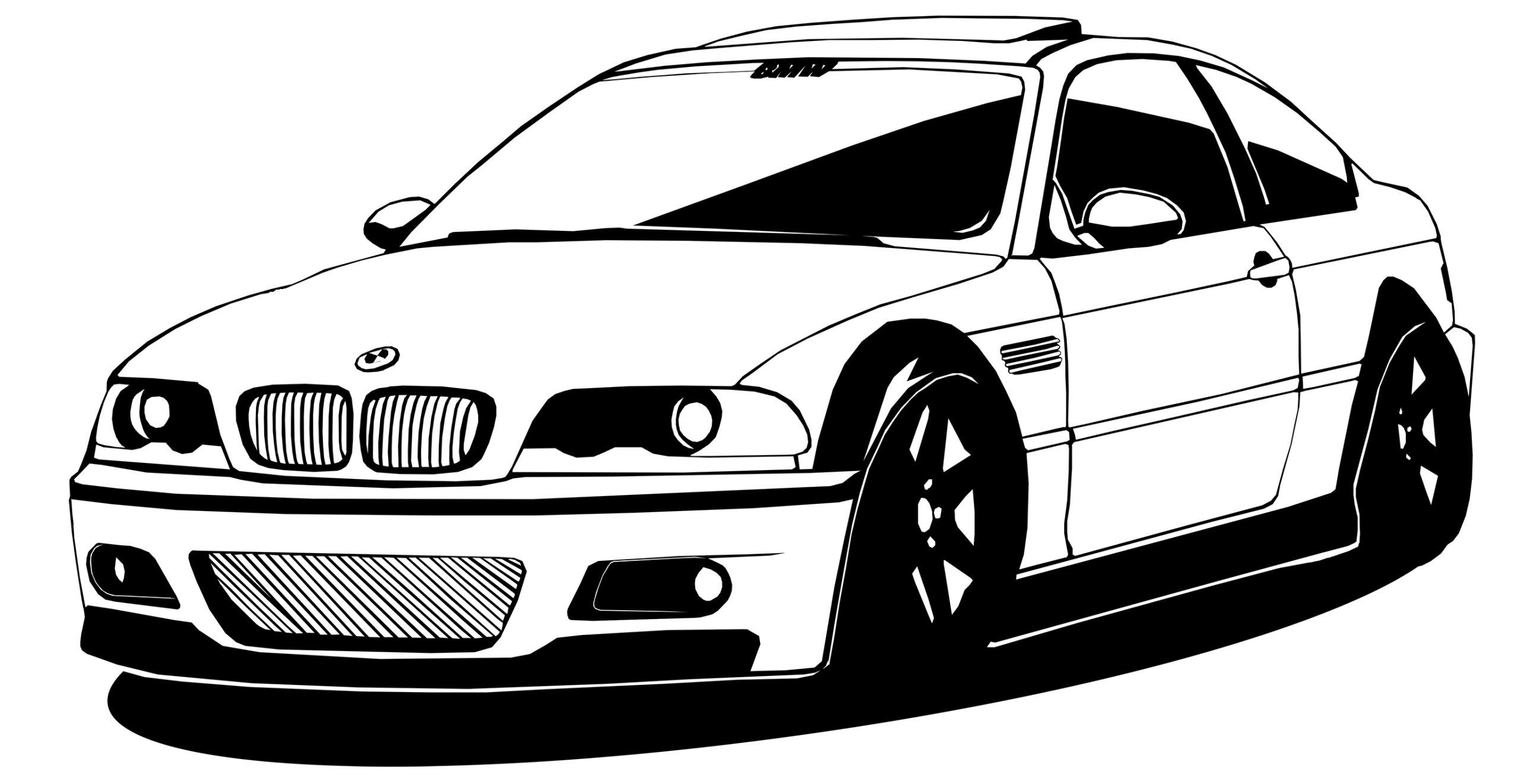 STENY ODTLAČKOVÝ BMW E46 NEMECKÉHO VINTAGE 25X50CM