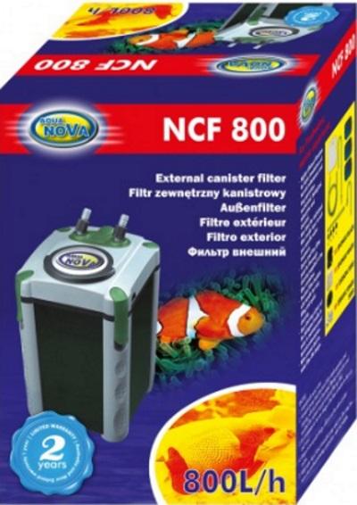 AQUA NOVA внешний Фильтр kubełkowy NCF-800 200Л