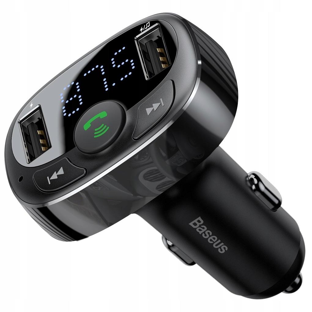 Bluetooth передатчик Baseus FM зарядное устройство MP3 2xUSB