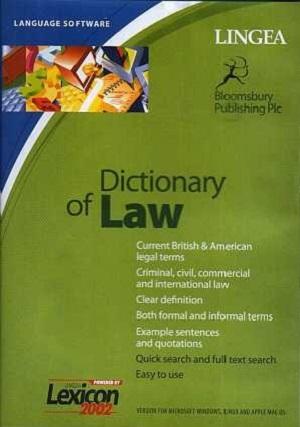 DICTIONARY OF LAW CD доставка товаров из Польши и Allegro на русском