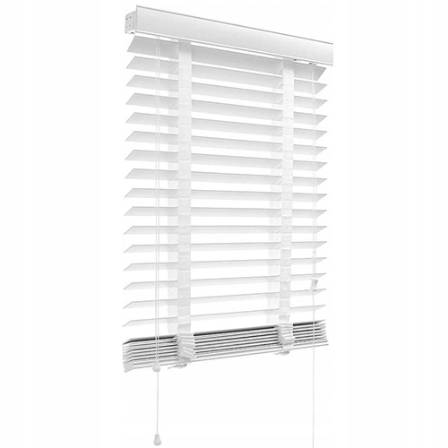 Żaluzje DREWNIANE Żaluzja na okno 125x130cm - 50mm