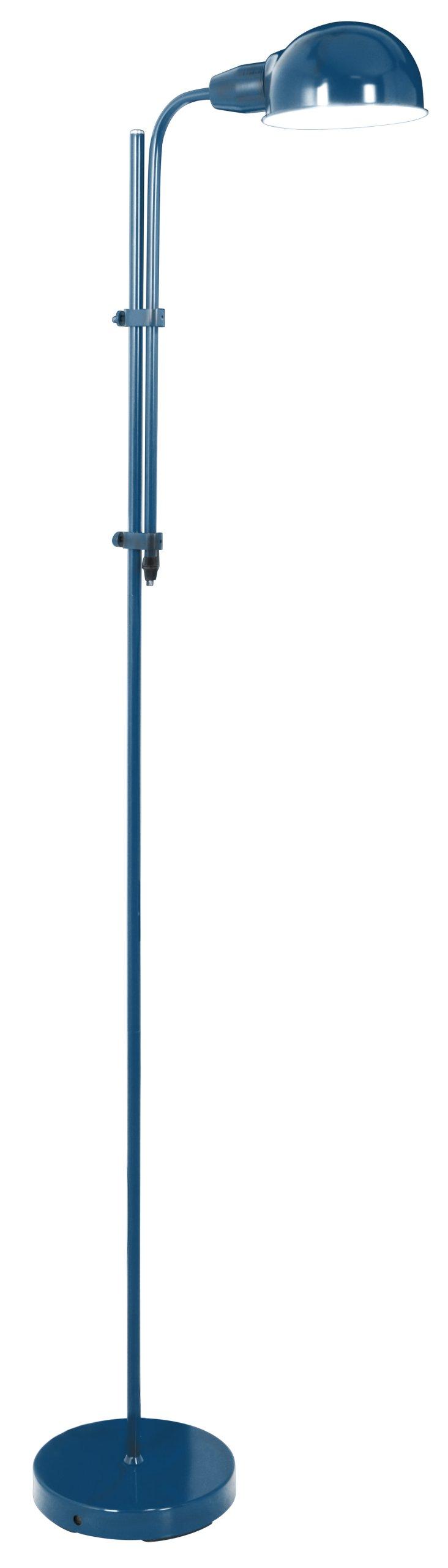 Podlahová lampa Retro 2043912 LOĎ modrá kov