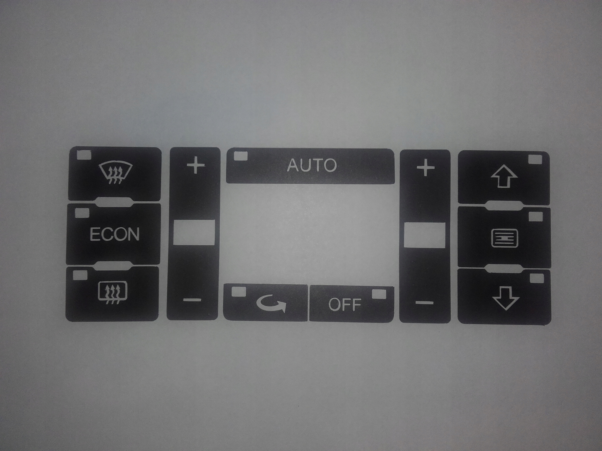комплект ремонтный панели klimatronika audi a2 a3