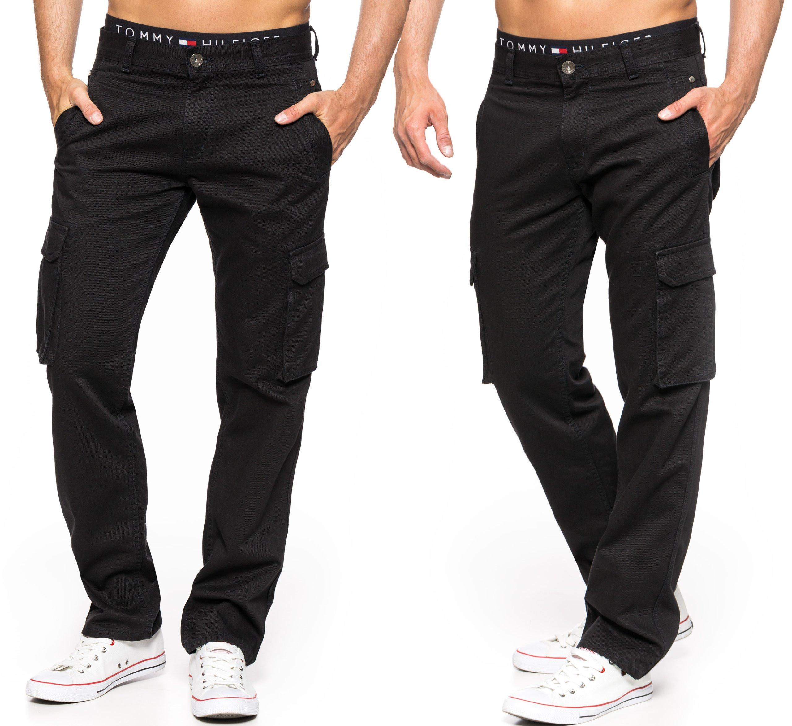 Bojówki Męskie Stanley Jeans Czarne 98cm L33 7331269020 Allegro Pl